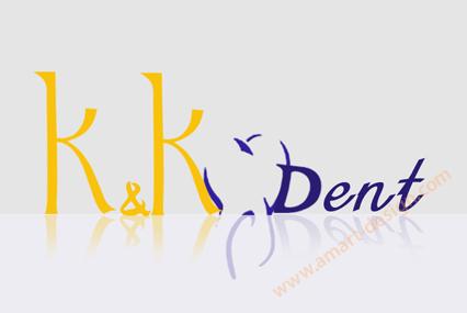 K & К Дент - лого дизайн